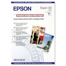 Бумага Epson Premium Semigloss Photo Paper A3+, 20л (C13S041328)