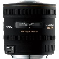 Объектив Sigma 4.5 mm f2.8 EX DC Fisheye HSM for Canon